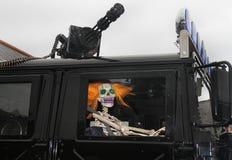 Whitby Goth周末2013年。 免版税库存照片