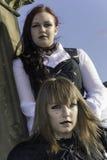 Whitby Goth周末 免版税图库摄影