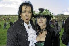 Whitby Goth周末 库存图片