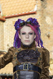 Whitby Goth周末Techno废物 免版税库存照片