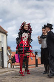 Whitby Goth Weekend Image stock