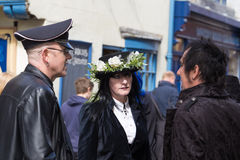 Whitby Goth Weekend Images libres de droits