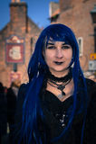 Whitby Goth Weekend Lizenzfreie Stockfotos