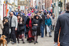 Whitby Goth Weekend Stock Photography