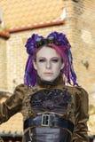 Whitby Goth Weekend Techno-Punk Lizenzfreies Stockfoto