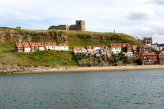 Whitby Harbor Royalty Free Stock Photo