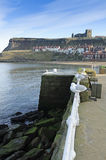 Whitby Harbour Royalty Free Stock Photos