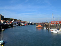 Whitby Harbour Stock Image