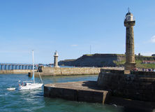 Whitby harbour Royalty Free Stock Photo