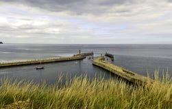 Whitby Harbour Lizenzfreie Stockbilder