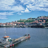 Whitby Harbour Stockfotos