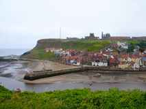 Whitby Harbour Images libres de droits