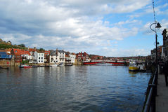 Whitby Harbour Royalty Free Stock Photography