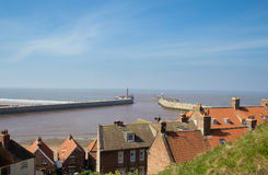 Whitby harbour Stock Photography
