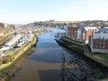 Whitby Harbour UK Royalty Free Stock Photos