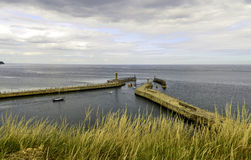 Whitby harbour Royalty Free Stock Images