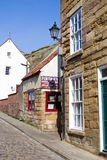 Whitby kipper shop Royalty Free Stock Photos