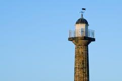 whitby latarni morskiej odbitkowa przestrzeń Fotografia Royalty Free