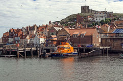 Whitby Lifeboat Stock Photography