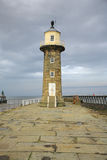 Whitby Lighthouse Royalty Free Stock Image