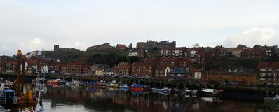 Whitby 2 stock images
