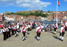 Whitby Moriis Dancers Royalty Free Stock Images