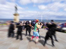Whitby morris dancers Stock Image