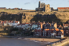 Whitby in North Yorks Royalty Free Stock Images