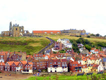 Whitby, North Yorkshire. Stockbilder