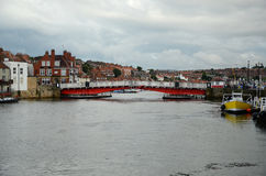 Whitby North Yorkshire Royaltyfria Bilder