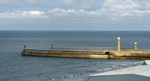 Whitby, North Yorkshire Image stock