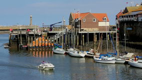 Whitby - North Yorkshire - Engeland Stock Foto