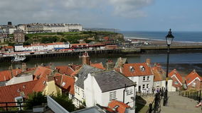 Whitby - North Yorkshire - England Stockbilder
