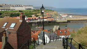 Whitby - North Yorkshire - England Royaltyfria Bilder
