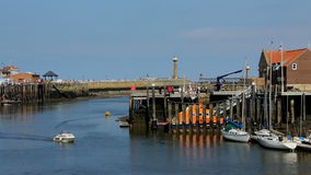Whitby - North Yorkshire - England Royalty Free Stock Image