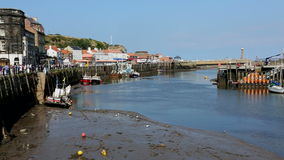 Whitby - North Yorkshire - England Royalty Free Stock Photo
