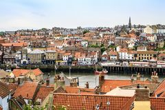 Whitby, north yorkshire, england. Royalty Free Stock Photography