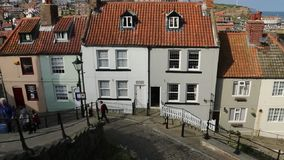 Whitby - North Yorkshire - l'Inghilterra Immagini Stock