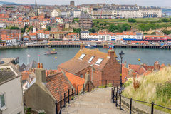 Whitby in north Yorkshire Stock Image