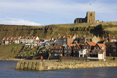 Whitby in North Yorkshire - United Kingdom Royalty Free Stock Photo