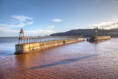 Whitby Pier Royalty Free Stock Image