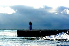 Whitby Pier Lizenzfreie Stockfotos