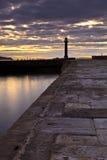 Whitby Pier 7 Lizenzfreies Stockfoto