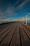 Whitby pier Stock Image