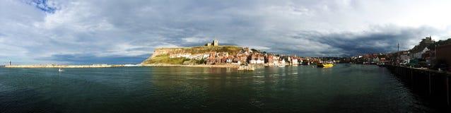 Whitby, połowu port, miasteczko przybrzeżne, północnego Yorkshire linia brzegowa, Obrazy Royalty Free