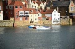 Whitby, puerto pesquero, ciudad costera, costa costa de Yorkshire del norte, Fotografía de archivo