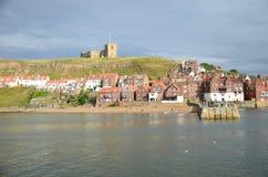 Whitby, puerto pesquero, ciudad costera, costa costa de Yorkshire del norte, Fotografía de archivo libre de regalías