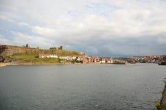 Whitby, puerto pesquero, ciudad costera, costa costa de Yorkshire del norte, Fotos de archivo libres de regalías