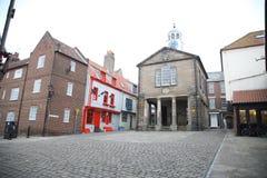 Whitby, puerto pesquero, ciudad costera, costa costa de Yorkshire del norte, Imágenes de archivo libres de regalías