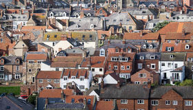 Whitby roofs Stock Photos